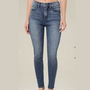 Bebe High Rise Heartbreaker Skinny Jeans Size 24
